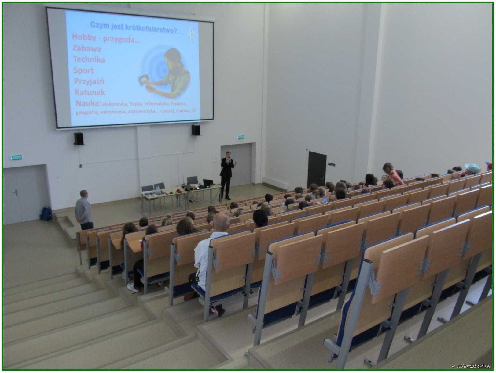 Prezentacja o krótkofalarstwie - SP nr 18 w Rzeszowie, 2016