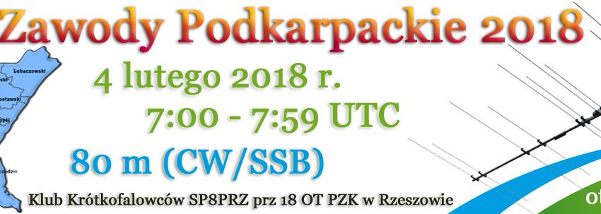 Nasz klub w Zawodach Podkarpackich 2018