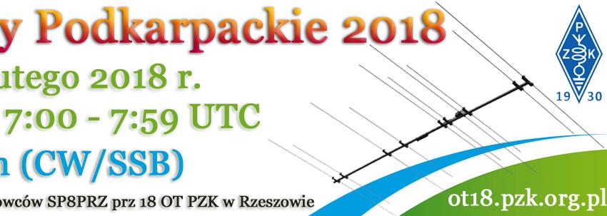 3 miejsce dla naszej stacji klubowej w Zawodach Podkarpackich 2018!