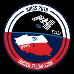Łączność ze stacją kosmiczną ARISS w Buczku 2018
